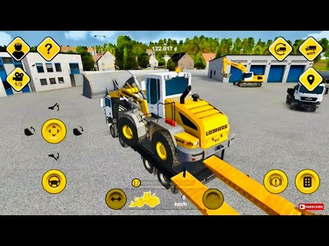 Construction Simulator 2015 Gameplay - Never Seen Before - Android Ios game  