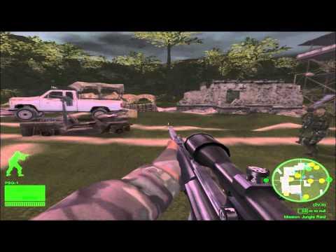 Delta Force Black Hawk Down: Team Sabre Colombia Campaign Mission 3  