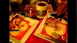 Sweet! Cherry Cornbread Pudding / Recipe
