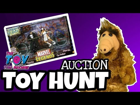 TOY HUNT #9 AUCTION : THE TOY TIME MACHINE
