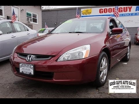 Honda Accord EX Roselle New Jersey Used Cars YouTube - Good guys used cars
