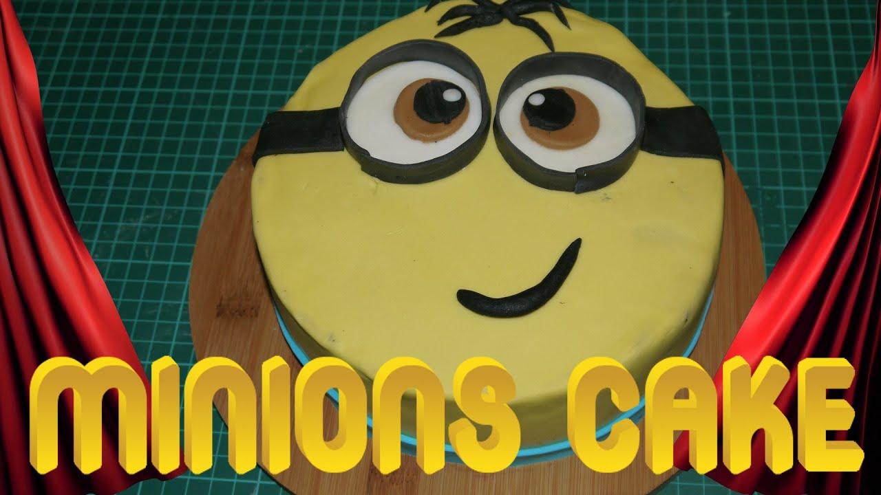 MINIONS TORTE Minions Cake Motivtorte Kuchen backen Torten ...