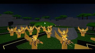 ROBLOX TOWER BATTLES ADDED GOLDEN SCOUT TOWER! (3500 CREDITS)