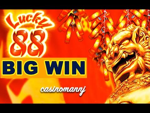 LUCKY 88 SLOT x88 *BIG SLOT WIN* - ALL BONUS FEATURES! - Slot Machine Bonus - 동영상