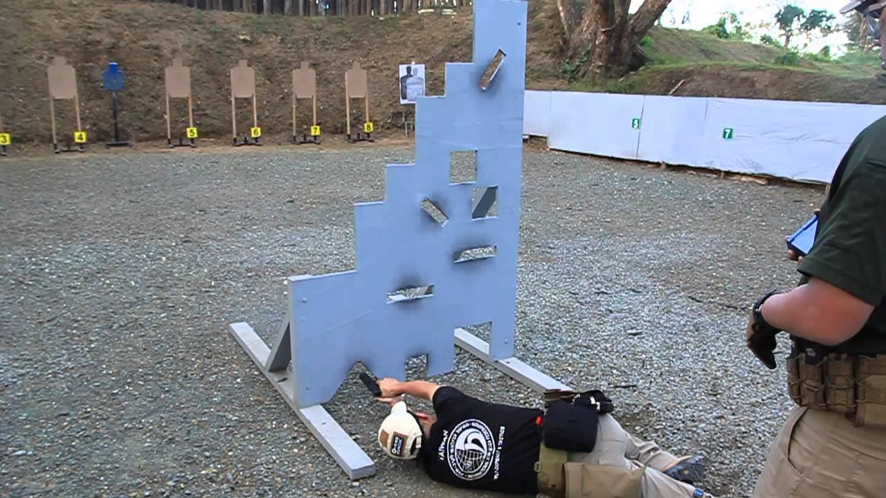 Vtac 9 Hole Pistol Drill Youtube