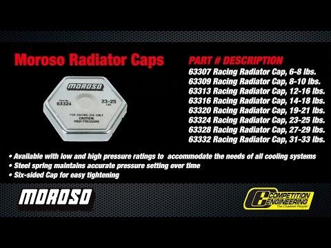 Pressure Cap 23 lb//psi  Short Reach Radiator Cap Expansion Tank Cap