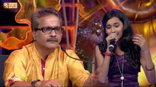 Super Singer Junior - Thedum Kan Paarvai by Aswathi and Bavin