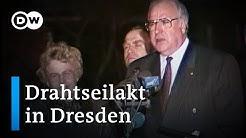 Drahtseilakt in Dresden - Helmut Kohls Rede und die Deutsche Einheit | DW Dokumentation