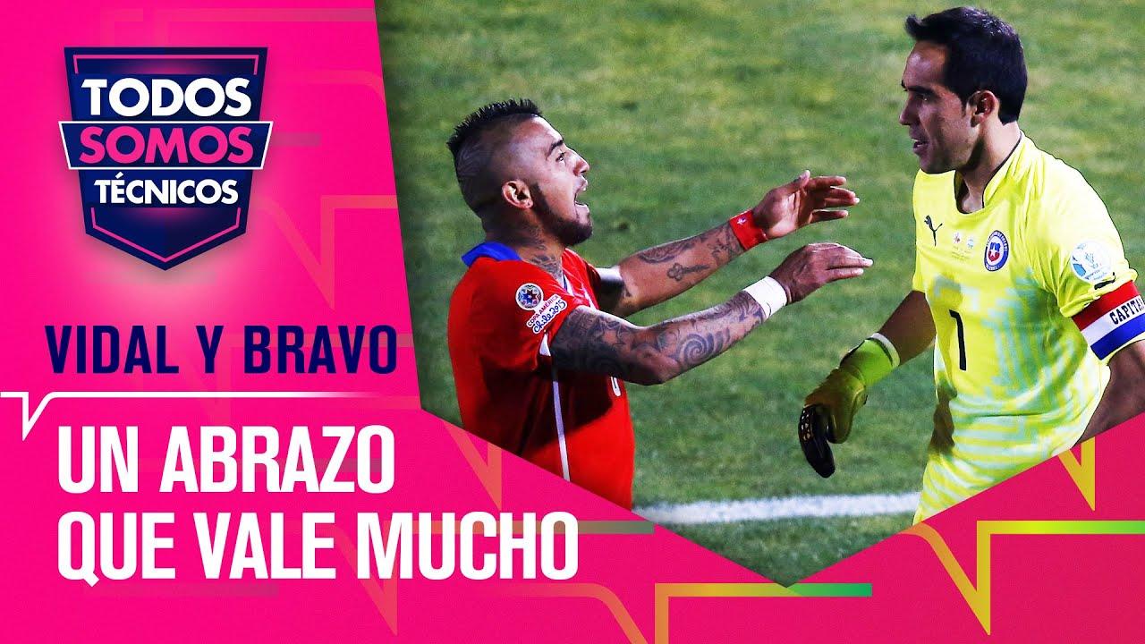 ¡RECONCILIADOS! Arturo Vidal y Claudio Bravo firmaron la PAZ - Todos Somos Técnicos