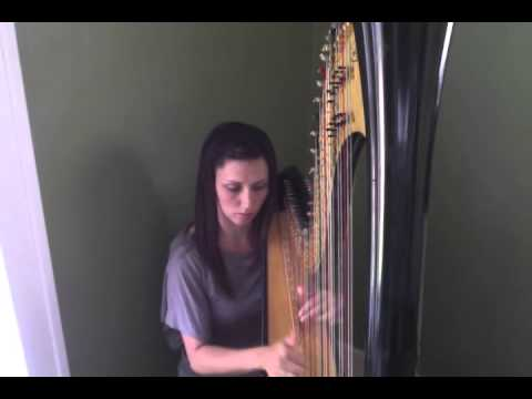 Nicole Marie Foster Harpist - I Will Follow You Into The Dark - Death Cab for Cutie (Cover)