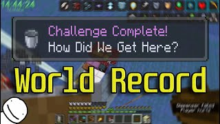 How I got the All Advancements Speedrun Record ft. Dream