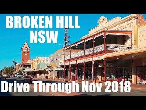 BROKEN HILL DRIVE THROUGH Nov 2018
