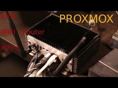 Proxmox | Intel NUC - Wifi Router and Workstation (English)