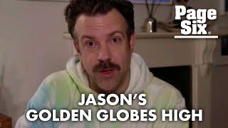 Twitter wonders if Jason Sudeikis was high for Golden Globes award speech   Page Six Celebrity News
