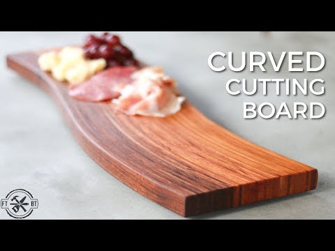 How to Make a Curved Cutting Board | DIY Bent Lamination