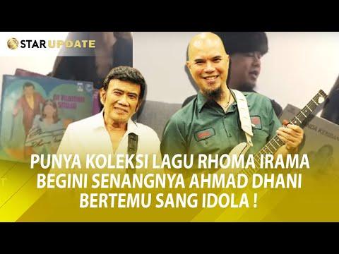 FULL!! CHIT-CHAT AHMAD DHANI BERTEMU RHOMA IRAMA DI INDONESIAN IDOL! - STAR UPDATE (24/02)
