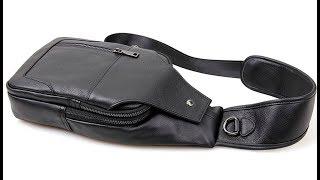Мужская кожаная сумка-мессенджер Baellerry (SM-FBL001). Быстрый обзор.