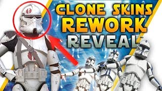 CLONE TROOPER REWORK: New Legions, Helmets, Armored Officers & Free 60k Credits - Battlefront 2