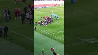 Georgia wins rugby Europe championship 2018 (Celebration)