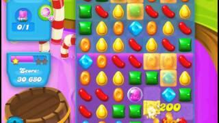 Candy Crush Soda Saga level 134 (3 star, No boosters)