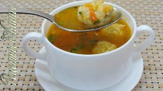 Рецепты Алины. Самый вкусный рыбный суп с фрикадельками .Tasty fish soup with meatballs.
