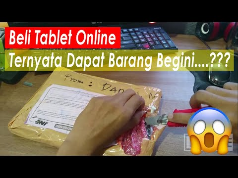 Beli Online Sony Z4 Tablet ... Ternyata Dapet Kayak Gini..?? (Unboxing Tab Xperia)