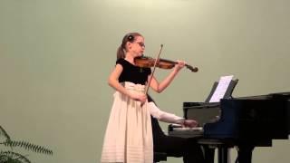 Ugnė Liepa Žuklytė (11 Years) - J. Haydn Concerto No 2, G-dur, Part I