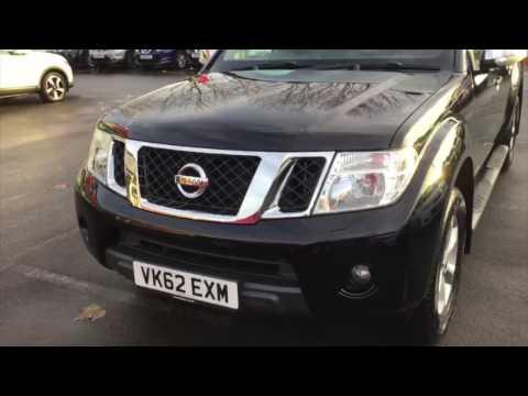 2012 Nissan Navara 2.5 dCi 4x4 Aventura Crewcab Pickup VK62 EXM at Hylton Nissan Worcester
