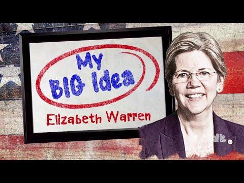 Elizabeth Warren Shares Her Big Idea For America's College Students | NBC Nightly News