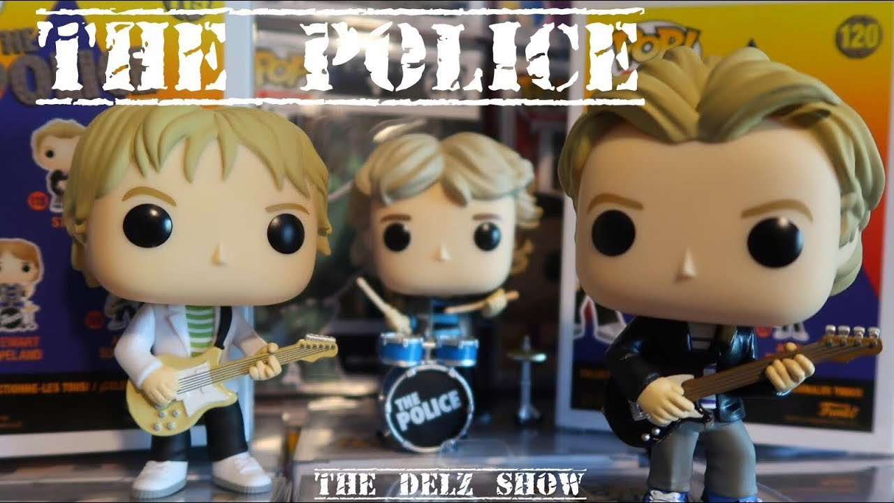 Andy Summers n°120 Pop! The Police Funko