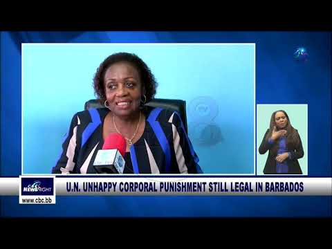 The U.N. is unhappy corporal punishment is still legal in Ba