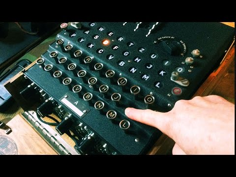 Amazing replica enigma machine for sale (demo)