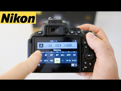 Nikon D5600 & D5500 Beginners User Guide Tutorial