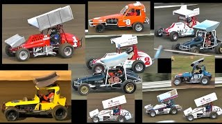 Victorian Classic & Vintage Demo Final Simpson Speedway 8-4-2017