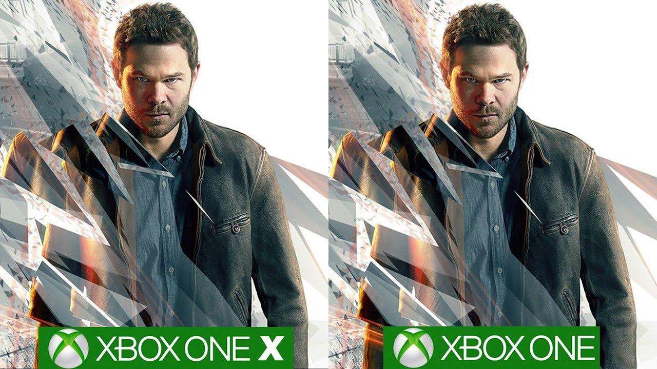Quantum Break Xbox One X vs Xbox One - Game Changing Improvements On