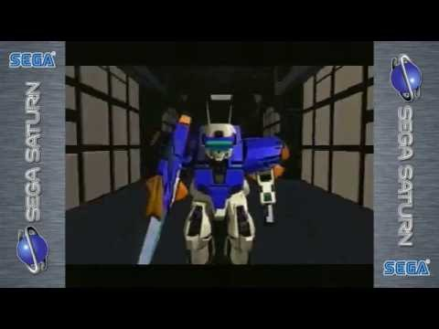 Cyber Troopers: Virtual On | SEGA Saturn | Real Hardware | Opening Cinematic Video
