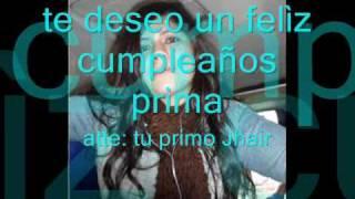 Feliz Cumpleaños Prima Magaly!! (Cumpleaños feliz- Tambor Urbano) (videos original)