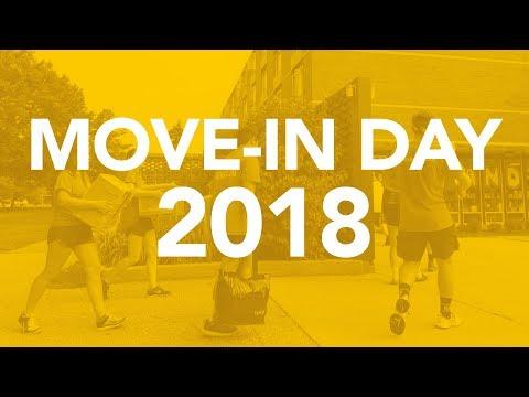 2018 Move-In Day At Valpo
