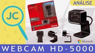 Microsoft Webcam LifeCam HD-5000 (Home Office / Games)