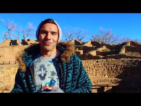 Exploring Aztec Ruins