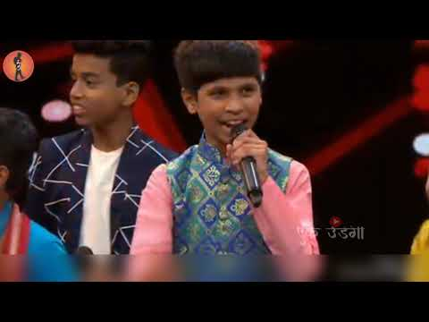 Abhishek kambale-Halgi song singing 5th sep-2018 sur nava dhyas nava chote survir