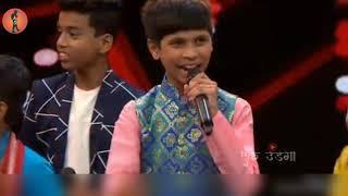 Abhishek kambale Halgi song singing 5th sep 2018 sur nava dhyas nava chote survir