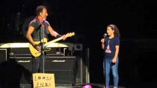 """Blinded by the light"" - Bruce Springsteen & special guest"""