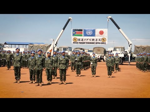 Japan - 60 years of contribution in peacekeeping and humanitarian mine action activities