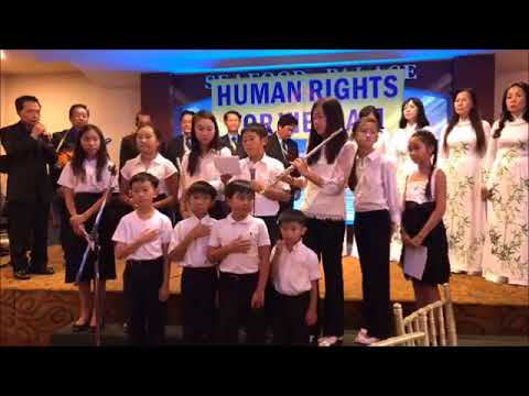Đêm Nhân Quyền và Tù Nhân Lương Tâm & Trao Giải TDTG Nguyễn Kim Điền