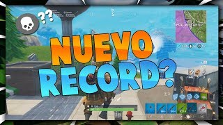 NUEVO RÉCORD DE KILLS?? | fortnite epic | LoloHermo