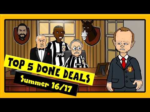 442oons: Top 5 Done Deals | Summer 2016. Pogba, Stones and Batshuayi
