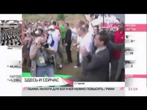 Медведев рассказал о своем танце с Мартиросяном