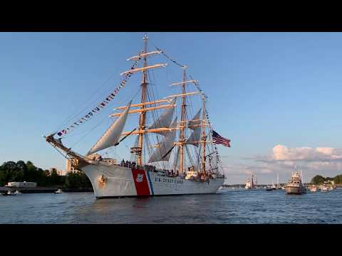 Greg Kretschmar - Escorting US Coast Guard Cutter Eagle Into Portsmouth NH