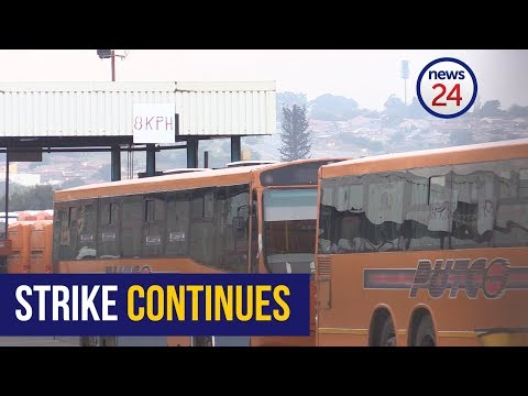 WATCH: Wage negotiations hit a deadlock - bus strike continues